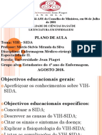 Plano de Aula VIH-SIDA Marcio Da Silva