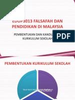 Pembentukan dan kandungan Kurikulum di Malaysia