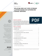 Deploying Red Hat Ceph Storage Clusters Based On Supermicro Storage Servers