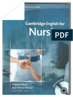 Cambridge English for Nursing