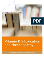 Vitamin D Intoxication and Homoeopathy