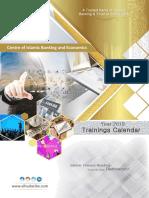 AlHuda CIBE Training Calendar 2019