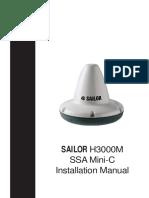Sailor H3000M SSA Mini -C Installation Manual