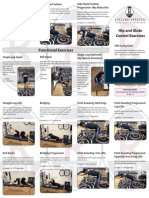 Hip Glute Stretches Brochure