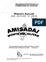 2014 Himnario Especial Musicos Amisadai (Melodia Cifrado Ingles)