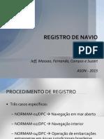 Registro de Navio