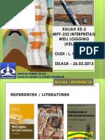 kuliah-2 Mud-log Core dan Caliper.pdf