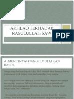 AKHLAQ TERHADAP RASULULLAH SAW.pptx