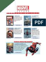 Novedades Panini Marvel Febrero 2019