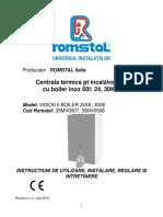 Centrală termică Romstal Vision