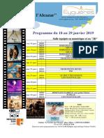 N°3-4 - Programme cinéma