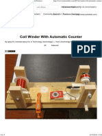 Coil Winder With Automatic Counter_ 5 Steps (With Pictures)