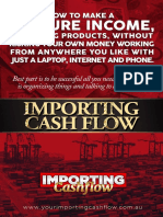 Importing Cashflow Book for Web