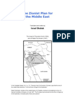 The Zionist Plan for the Middle East