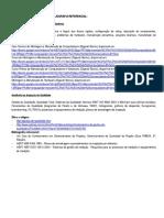 Conteúdo Programático e Bibliografia Referencial