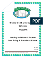 Housin & GPL- Loans Policy & Prucedures Manual Final1