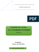 Chapitee Controle Interne m1 Cca