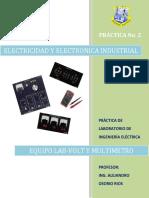 Practica No. 2 Uso de Equipo Lab-Volt y Multimetro