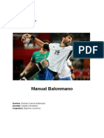 Manual de balonmano