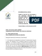 Recomendación CNDH Pedro Tamayo Rec_2018_089