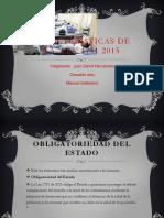 Características de La Ley 1751 2015 y Dierencias