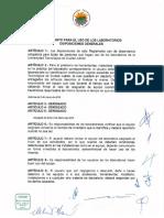Reglamento de Laboratorios General
