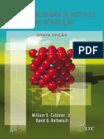 Ciência Dos Materiais - Callister - 8ª Ed - Livro - Português