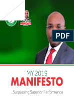 Governor Udom Emmanuel's 2019 Manifesto