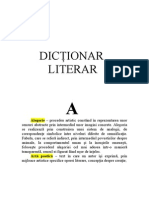 dictionar literar