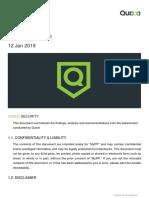 Vulnerability Report