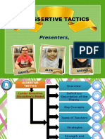 Assertive Tactics