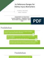 Rentang Referensi Pediatrik Untuk Biomarker Cedera Ginjal Akut Fix