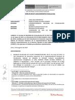 Res 01477-2018-SERVIR-TSC (Cómo Se Configura La Falta Por Negligencia en El Ejercicio de Sus Funciones)