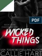 Chaos & Ruin 3 - Wicked Things (PAPA LIVROS)