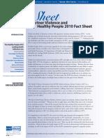 Ipv Fact Sheet