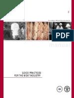 FAO Manual Gmp Meat