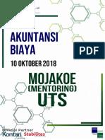 SPA Mentoring 2018 UTS Akuntansi Biaya