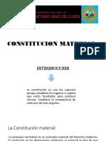 Constitucion Material