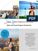 orientacion para work travel janus