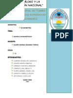 M. Econometrico - Teoria PBI y Inve