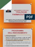 POLITICHE FARMACEUTICHE - I PARTE - Il Sistema dei Prontuari - CTF FAR.pptx