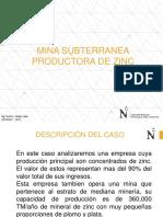 1.0 Caso Empresa Minera Productora de Zinc