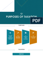 Purposes of Taxation