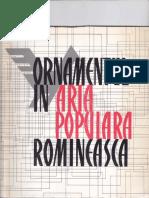 Ornamentul in arta populara  romaneasca