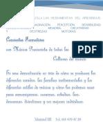 CONCIERTOS FORMATIVOS PRESENTACION