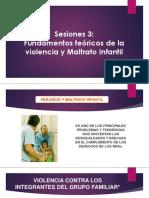 Sesion 3 - Problematica Violencia Infantil - 2018