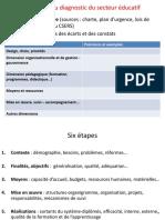 Diangnostic Du Secteur Educatif 2016