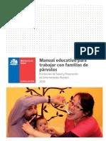 Manual Educativo Para Trabajar Con Familias de Párvulos 2016