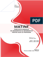 Revista Matinf