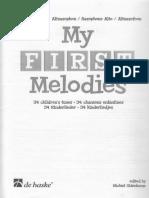 Michiel Oldenkamp - My First Melodies (Eb) (1)